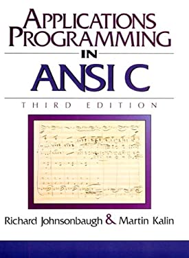 Applications Programming in ANSI C 9780023611414