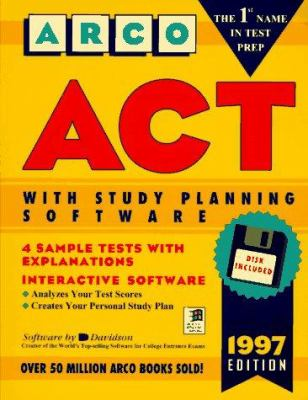 Arco ACT: American College Testing Program, with Study Planning Software