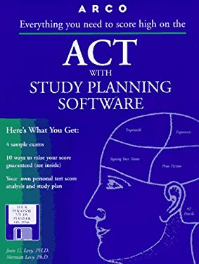 Arco ACT: With Study-Planning Software 9780028619200