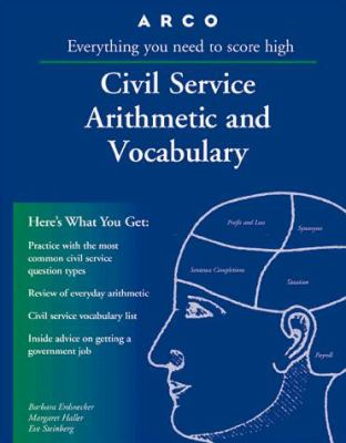 Arco Civil Service Arithmetic and Vocabulary