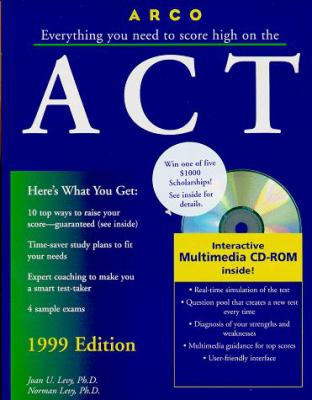 Arco Everything You Need to Score High on the ACT [With Study Disk]