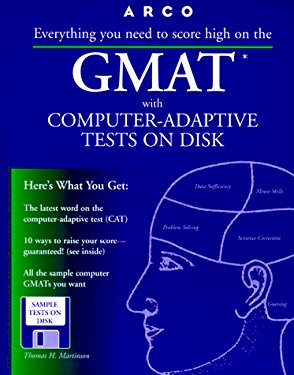 Arco GMAT with Computer-Adaptive Tests on Disk: User's Manual [With Contains Sample Tests...]