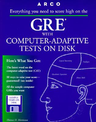 Arco GRE: Graduate Record Examination: With Computer-Adaptive Tests on Disk