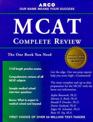 Arco MCAT Complete Review 9780028635620