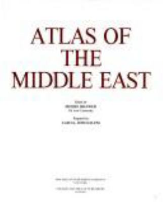 Atlas of the Middle East 9780029052716