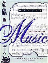 Baker's Dictionary of Music