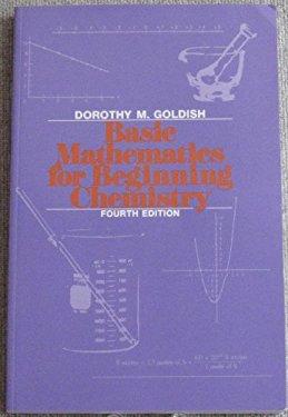 Basic Mathematics for Beginning Chemistry