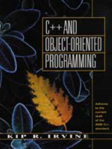 C++ and Object Oriented Programming C++ and Object Oriented Programming