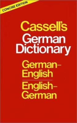 Cassell's German Dictionary: German-English English-German