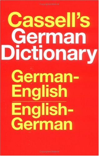 Cassell's German Dictionary: German-English, English-German
