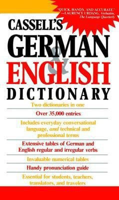 Cassell's German English Dictionary 9780020248507