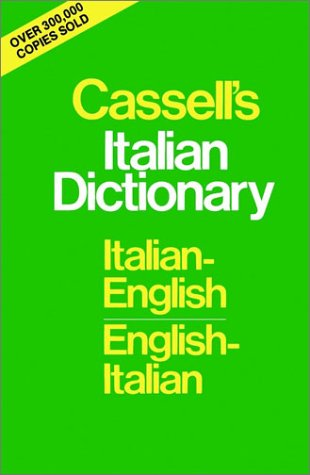 Cassell's Italian Dictionary (Thumb-Indexed Version): Italian-English English-Italian 9780025225404