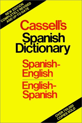 Cassell's Spanish-English, English-Spanish Dictionary 9780025229105