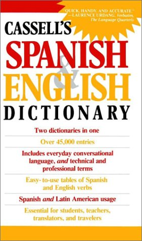 Cassell's Spanish and English Dictionary 9780020136903