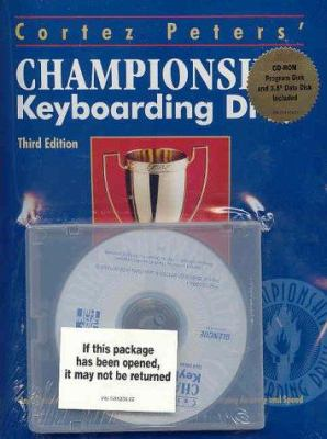 Championship Keyboarding and Student Data Disk [With CDROM]