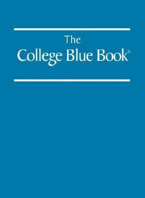 College Blue Book 33 6v Set