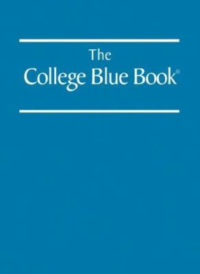 College Blue Book 34 6v Set