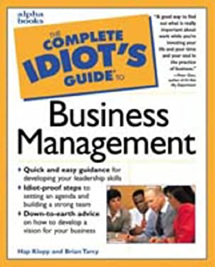 Complete Idiot's Guide to Business Management