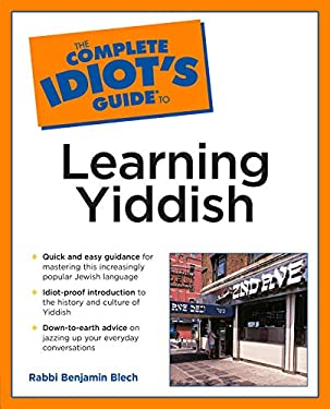 Complete Idiot's Guide to Learning Yiddish 9780028633879