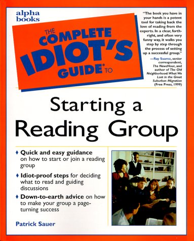 Complete Idiot's Guide to Starting Reading Grp: 3