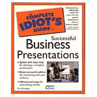 Complete Idiot's Guide to Successful Business Presentation: 3