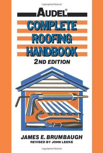 Complete Roofing Handbook 9780025178519