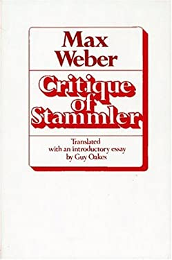 Critique of Stammler 9780029341001