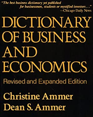 Dictionary of Business and Economics, REV. Ed.