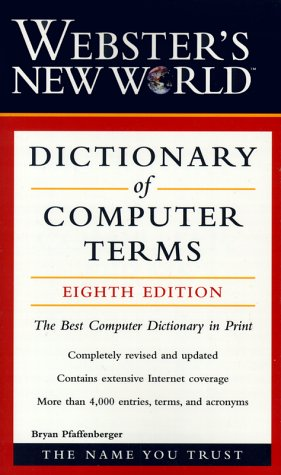 Dictionary of Computer Terms 9780028637778
