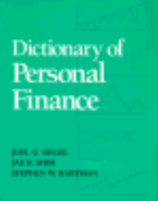 Dictionary of Personal Finance
