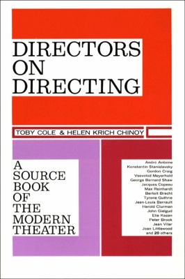 Directors on Directing: A Source Book of the Modern Theatre 9780023233005