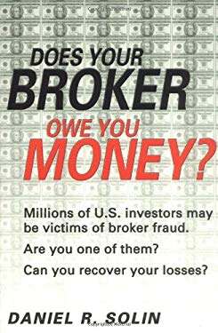 Does Your Broker Owe You Money? 9780028643908