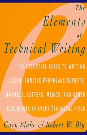 Elements of Technical Writing 9780020130857