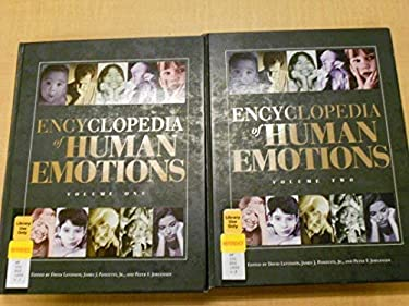 Encyclopedia of Human Emotions 2v Set