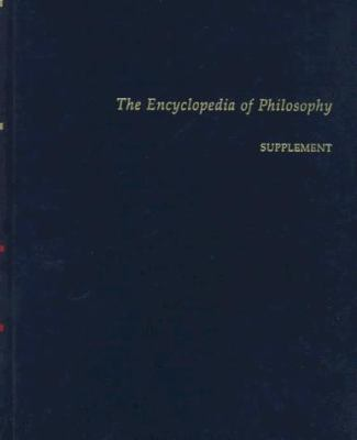 Encyclopedia of Philosophy Blue Supplement 9780028646299