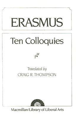 Erasmus: Ten Colloquies