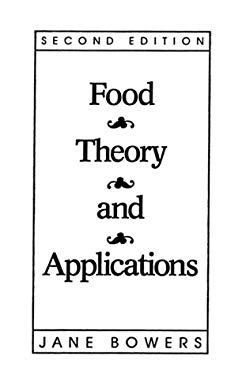 Food Therory a Appli