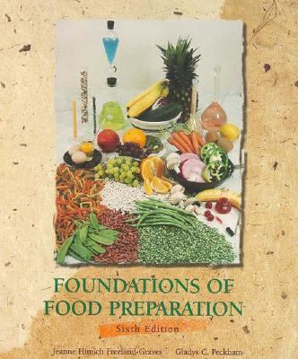 Foundations of Food Preparation 9780023396410