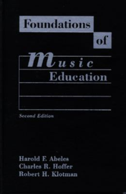 Foundations of Music Education 9780028700113