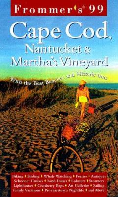 Frommer's Cape Cod, Nantucket & Martha's Vineyard [With Folded]