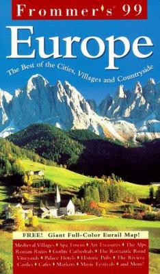 Frommer's Europe [With Giant Full-Color Foldout]