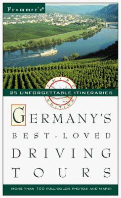 Frommer's Germany's Best-Loved Driving Tours [With Color Coded Map]