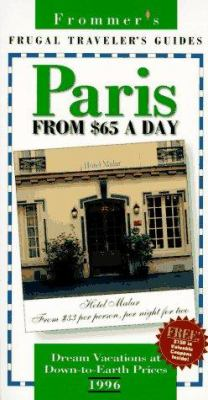 Frommer's Paris from $65 a Day, 1996