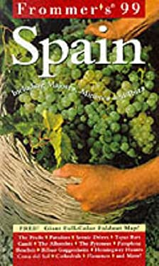Frommer's Spain [With Full-Color Fold-Out]