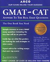 GMAT CAT: Answers to the Real Essay 2nd