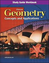 Geometry: Concepts and Applications, Study Guide Workbook