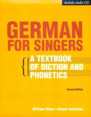 German for Singers [With CDROM]