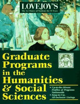 Graduate Programs in Arts, Humanities & Social Science