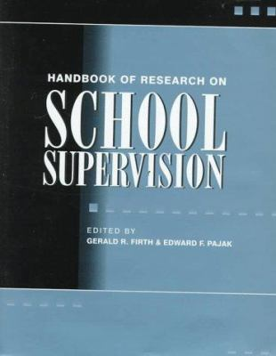 Handbook of Research on School Supervision