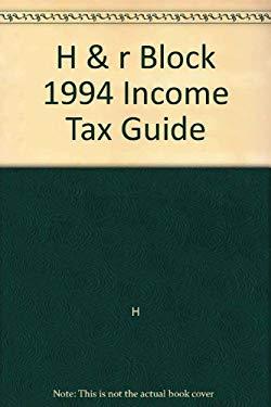 Handr Block 1994 Income Tax Guide